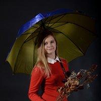 Девушка с зонтом :: Андрей + Ирина Степановы