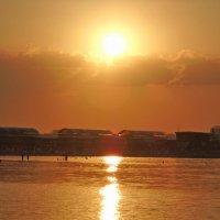 закат над соленым озером :: ольга хакимова