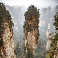 Горы в парке Аватар :: Павел Заславский
