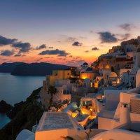 Вечер на Санторини :: Lucky Photographer