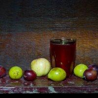 Натюрморт с компотом и фруктами :: -DMS- .