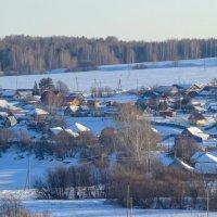 Деревня Большое Заозерье :: Алексей Сметкин