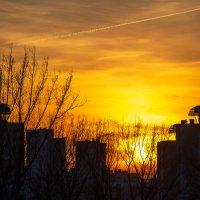 Закат в Минске 30.03.2019 :: Алексей Селивёрстов