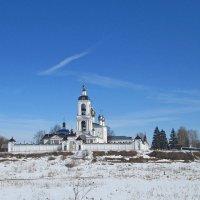 Монастырь на холме. :: Михаил Попов