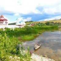 Свято-Богороднический Казанский мужской монастырь в Винновке. Самара. :: Надежда