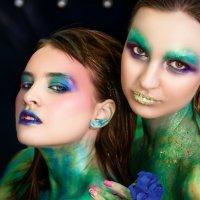 креативный макияж :: Юлия Рамелис