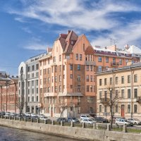 Доходный дом Капустина на набережной Фонтанки, Санкт-Петербург :: Максим Хрусталев