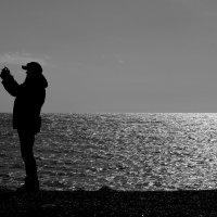 Селфи на фоне моря :: Елена Даньшина