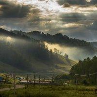 Утро в горах :: Татьяна Степанова