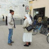 На улочках Пизы. :: Гала