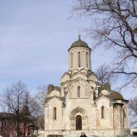 Спасский собор между 1410 и 1427 :: Анна Воробьева