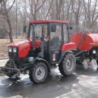 Трактор :: Дмитрий Никитин