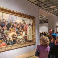На выставке Ильи Репина в Третьяковской галерееудалитьредактировать :: Виктор Тараканов