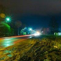 Ночь, улица, много фонарей.... :: Сергей Никитин