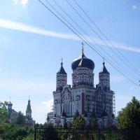 Женский Свято-Пантелеймоновский монастырь в Феофании :: Надежд@ Шавенкова