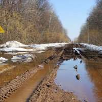 Такие вот дороги апреля.. :: Андрей Заломленков