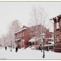 Последний снегопад... :: Игорь Корф