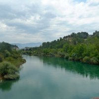 Река Манавгат. Турция. :: Зоя Чария