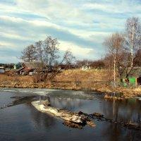 Весна на реке Осиновка :: Нэля Лысенко
