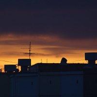 Закат над крышами :: Ольга Логинова