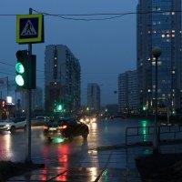 Еще не зажигались фонари :: Валерий Михмель