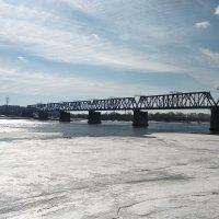 Новосибирск-река Обь :: Александр Костьянов