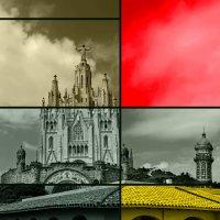 Вспоминая Мондриана. Храм Святого Сердца. Барселона. Испания :: Андрей Левин