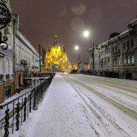 переулок в зимней ночи :: Георгий А
