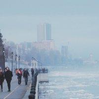 Над городом туман. :: Тамара Бучарская