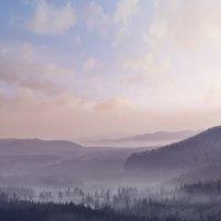 Долина Кен-Цу-Хе на закате :: Павел Воробьёв