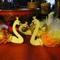 Царственные лебеди :: Самохвалова Зинаида