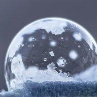 Мороз и мыльные пузыри :: Елена Баландина