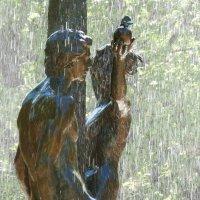 Фрагмент фонтана Адам и Ева под райским деревом. :: Alexey YakovLev