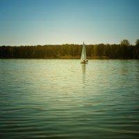 Вечернее озеро :: Татьяна Каримова