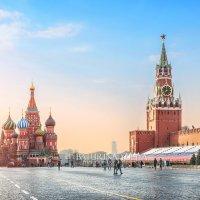 Нежное утро на Красной Площади :: Юлия Батурина