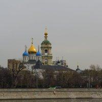 Новоспасский монастырь :: Сергей Фомичев