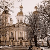 Никольский собор :: Фотогруппа Весна-Вера,Саша,Натан
