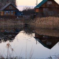 Апрельский вечер в деревне :: Татьяна Ломтева