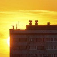 Городской закат :: Минихан Сафин