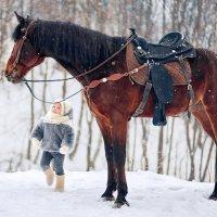 Какой ты большой! :: Наталья Мячикова