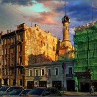My magic Petersburg_03322 ул. Чайковского_Пожарная часть. :: Станислав Лебединский