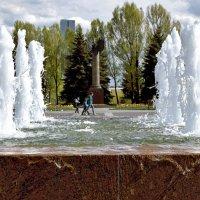 Уникальные фонтаны Мемориального комплекса на Поклонной горе. :: Татьяна Помогалова