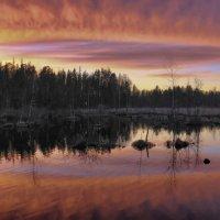 вечер на озере :: Георгий А