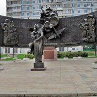 Памятник героям ПВО Москвы в ВОВ 1941-1945 гг. :: Ольга Довженко
