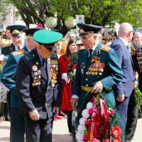 возложение цветов ветеранами :: Сергей Кочнев