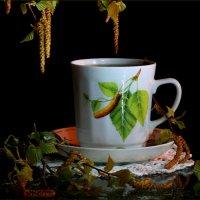 Весенний  чай :: Нэля Лысенко
