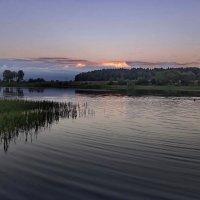 Мягкие краски заката :: Лара Симонова