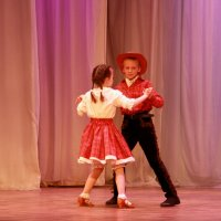 Ковбойский танец :: Нэля Лысенко