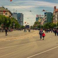 Улица без машин. Мечта пешехода. :: Андрей Божков