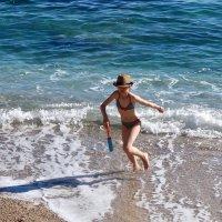 юная француженка на Лазурном берегу :: Елена